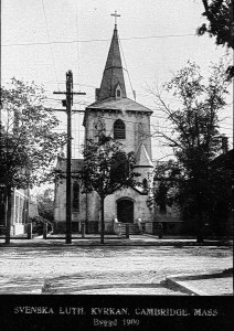 The church shortly after construction in 1909