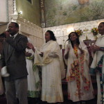 One of the Eritrean churches worshiping at Faith